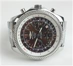 Breitling A25362 Bentley Motors Chronograph Stainless Steel Brown Dial Watch